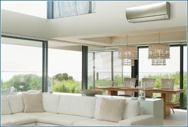 Klimaanlage Wohnzimmer Befestigung Energiesparen